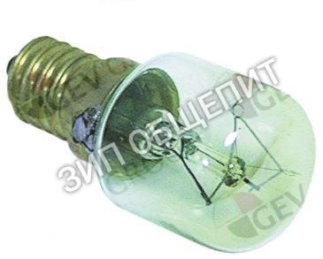 Лампа накаливания Cuppone, темп. 300°C, цоколь E14, 25Вт для G18/335