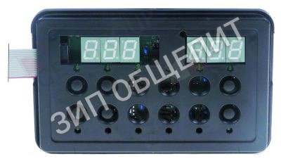 Блок клавиатуры Kromo, для прибора H63/373E/144E, Д 158мм, Ш 103мм для HOOD-110-E / HOOD-130-ELETTRONICA / KP130-ELETTRONICA